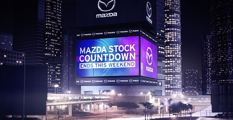 Mazda Stocktake Countdown